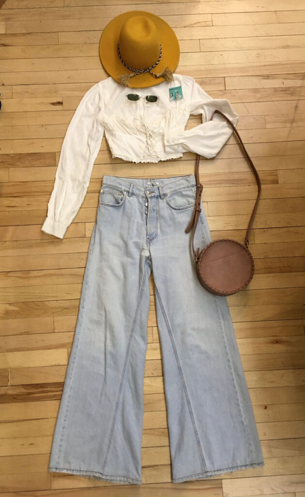 Buffalo Exchange Spring Style 70's Bell Bottoms