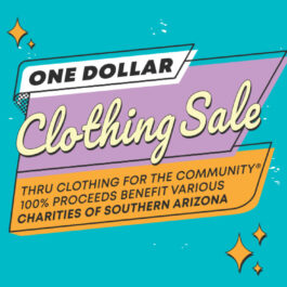 Clothing for the Community One Dollar Clothing Sale